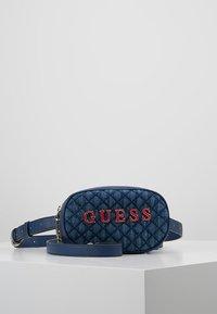 Guess - PASSION XBODY BELT BAG - Bum bag - blue - 5