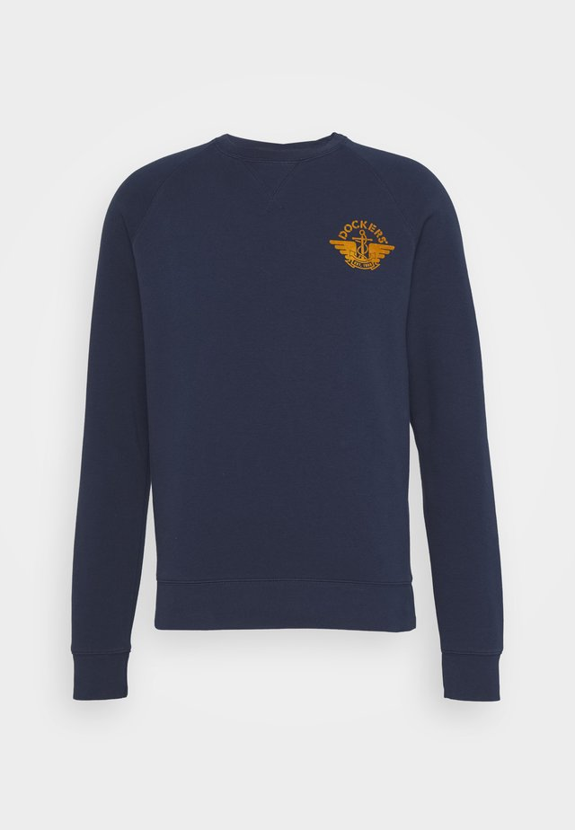 LOGO CREWNECK - Sweatshirt - dark blue