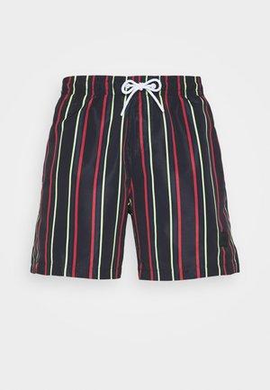 STRIPE SWIM  - Swimming shorts - midnight/navy
