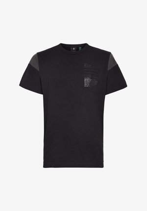 C&S BACK GRAPHIC + LOOSE - Print T-shirt - dk black