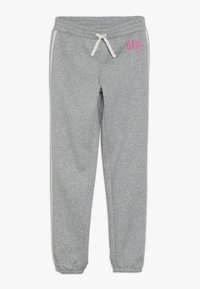 GAP - GIRL LOGO JOGGER - Tracksuit bottoms - light heather grey - 0