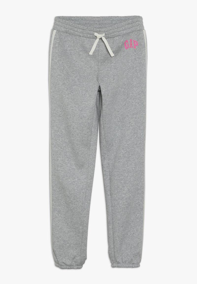 GAP - GIRL LOGO JOGGER - Pantalones deportivos - light heather grey