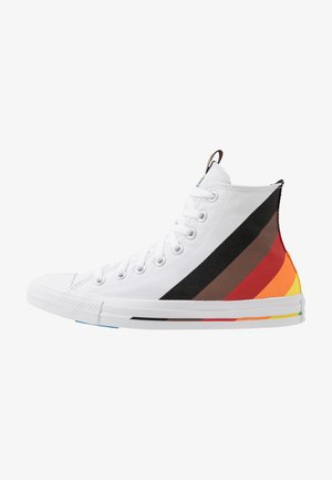 PRIDE CHUCK TAYLOR ALL STAR - Høye joggesko - white/university red