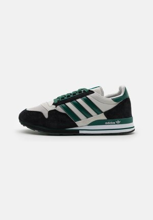 ZX 500 UNISEX - Trainers - grey one/collegiate green/core black