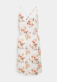 VILA PETITE - VIMESA SHORT DRESS - Day dress - snow white - 0