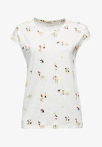 Esprit - T-shirt z nadrukiem - off white - 5
