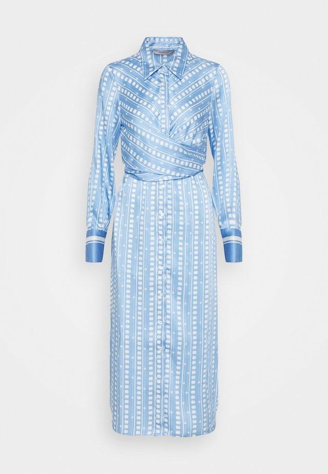 PINETA - Robe longue - azzurro