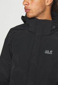 Jack Wolfskin - PEAKS  - Hardshell jacket - black - 4