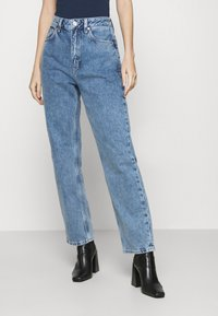 Tommy Jeans - HARPER - Straight leg jeans - marcia mid blue - 0