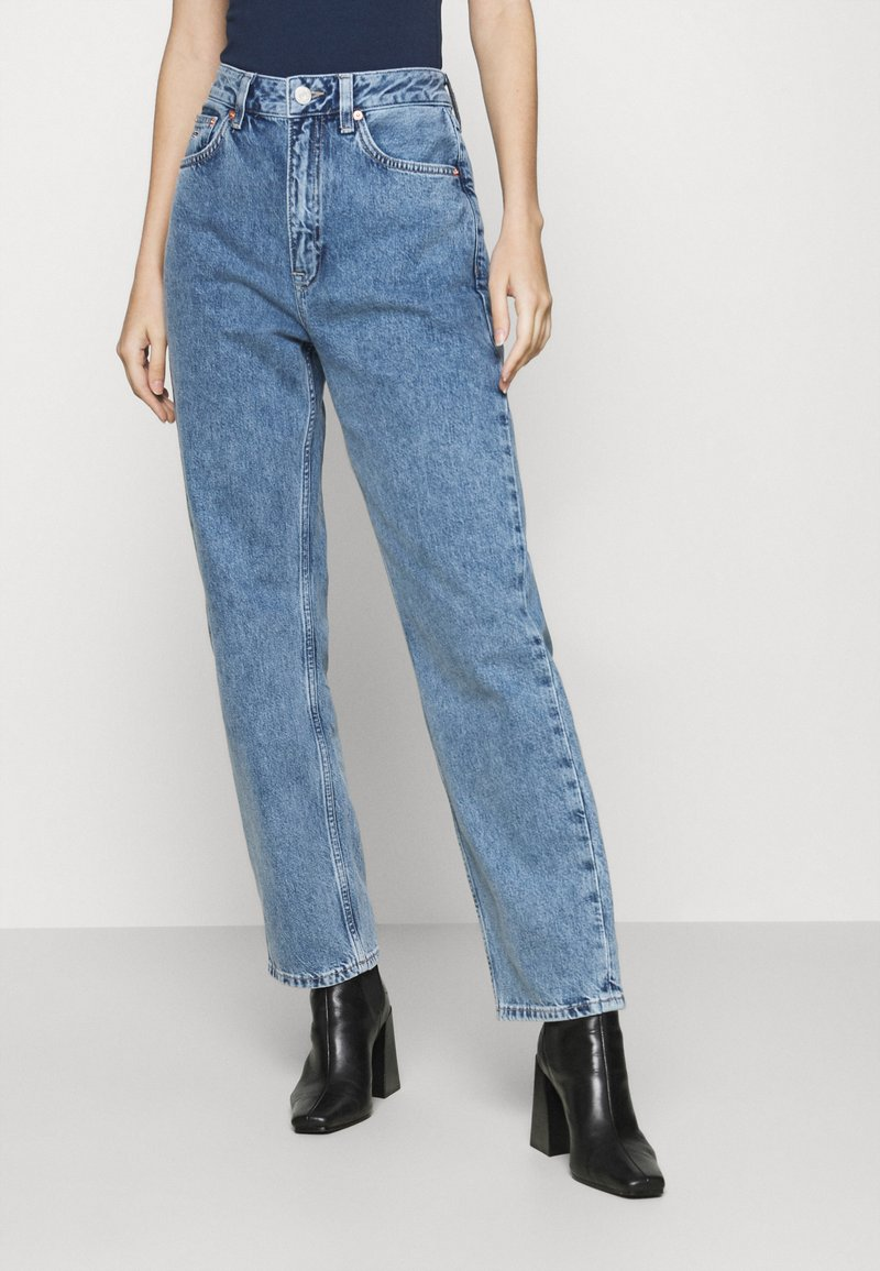Tommy Jeans - HARPER - Straight leg jeans - marcia mid blue