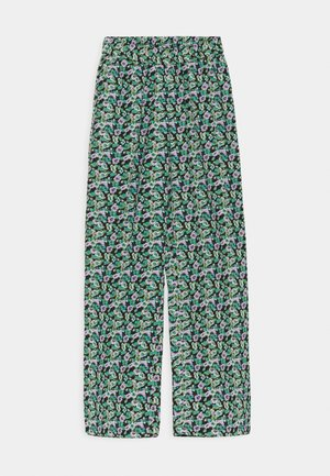MONA PANTS - Trousers - pool blue