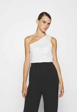 ONE SHOULDER - Top - white