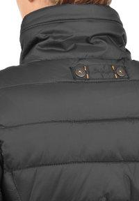 Blendshe - STEPPMANTEL CARLOTTA - Winter coat - metallic grey - 3