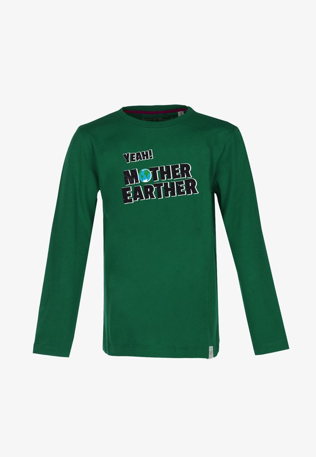 MOTHER EARTHER - Long sleeved top - dark-green