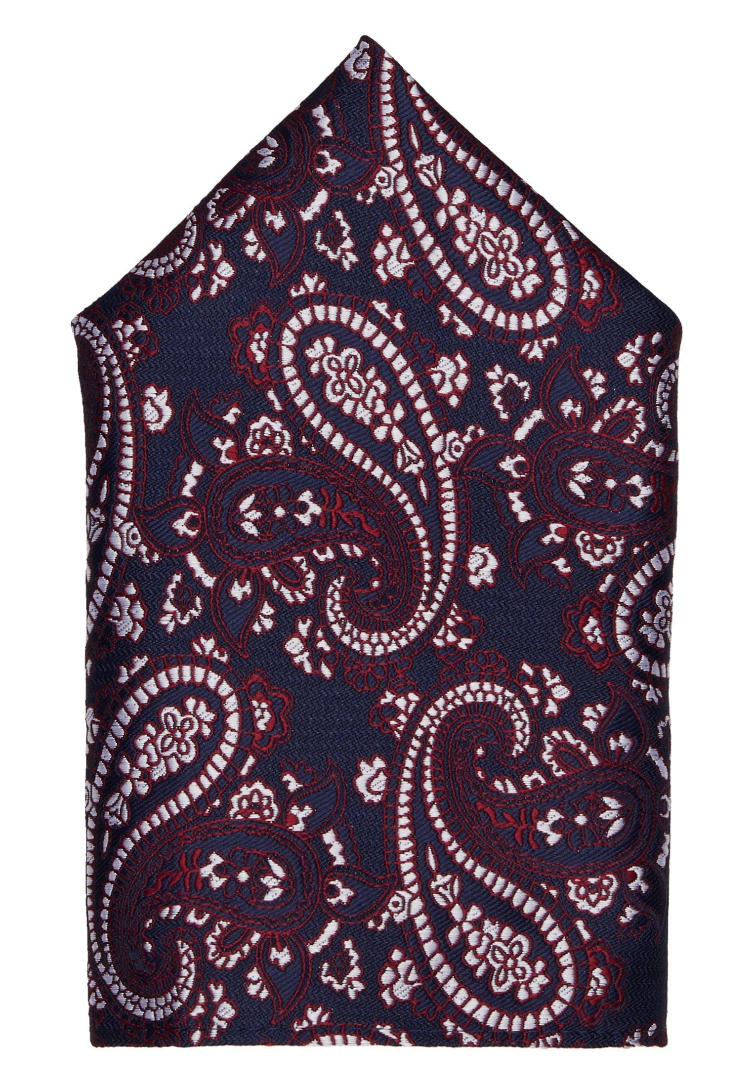 Burton Menswear London PAISLEY SET - Lommetørkle - burgundy/vinrød Xds7QQ7dYapuPjJ