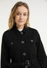 DreiMaster - Short coat - schwarz - 3