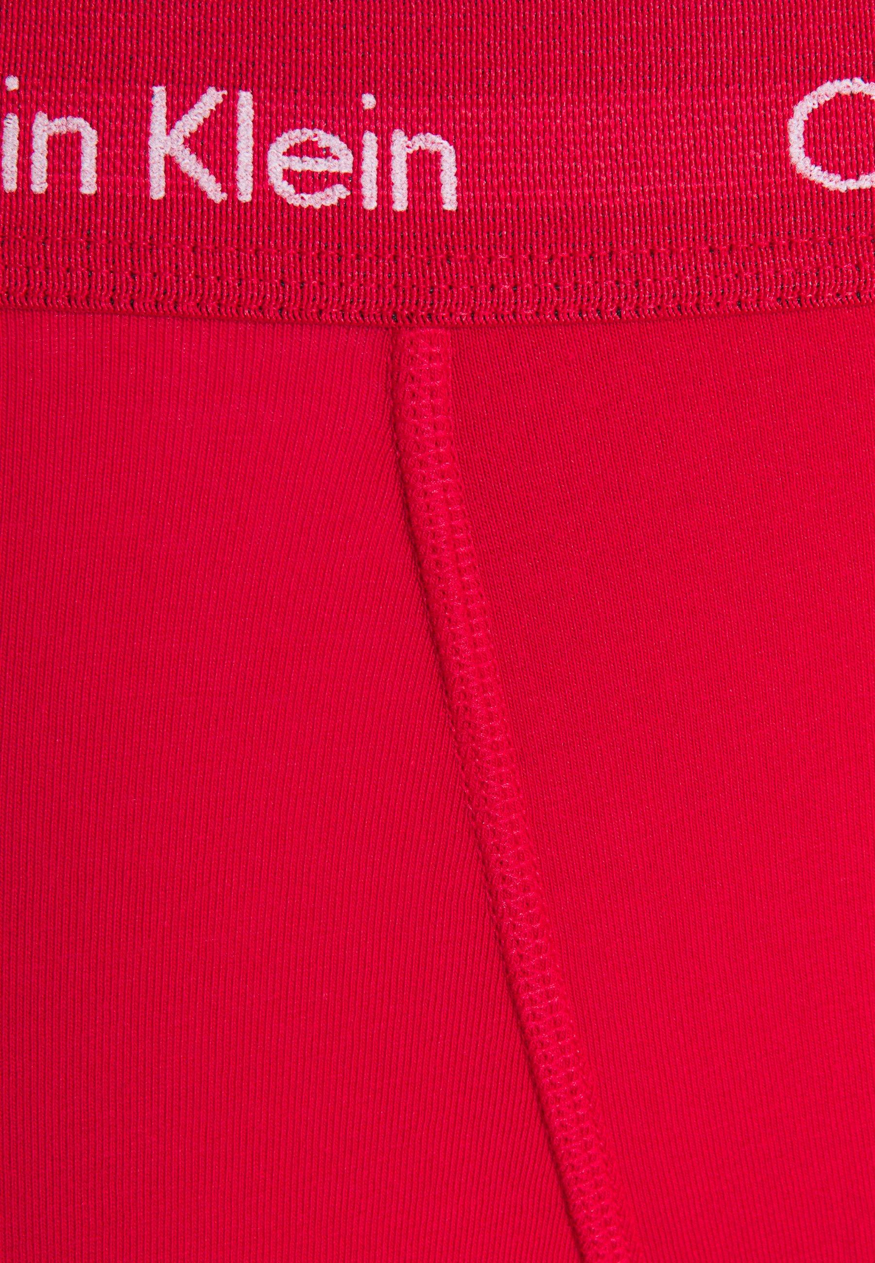 Cheap Best Price Men's Clothing Calvin Klein Underwear TRUNK 3 PACK Pants black/void/red alert M53I8GFNn i9uVM2Kxc
