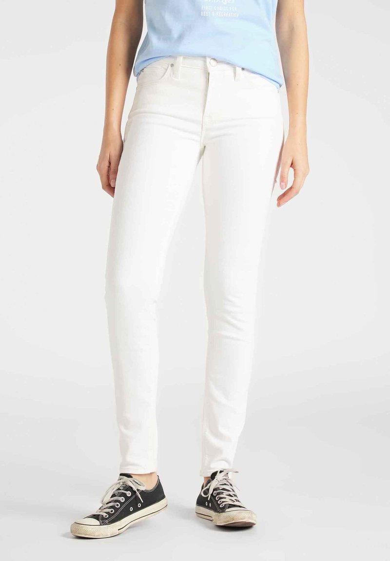 Lee - SCARLETT - Jeansy Skinny Fit - off-whit