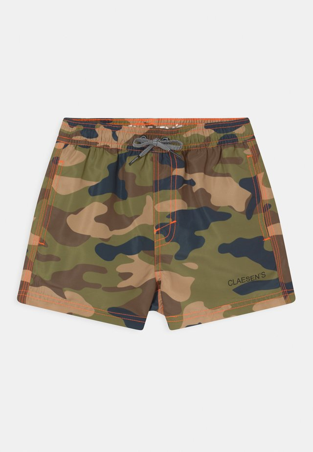 BOYS LOOSE FIT  - Swimming shorts - army