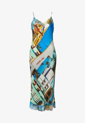 DESIGNED BY ESTEBAN CORTAZAR - Sukienka etui - blue