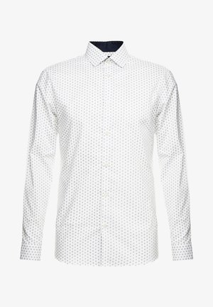 SLHSLIMNEW MARK - Formal shirt - white/light blue