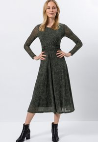 zero - Day dress - olive green - 1
