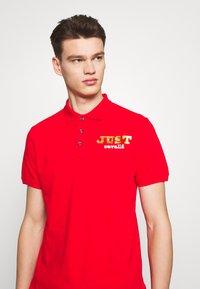 Just Cavalli - LOGO - Polo shirt - red - 5