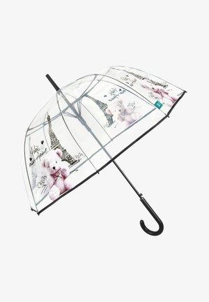 UMBRELLA WITH TOUR EIFFEL AND TEDDYBEAR - Umbrella - trasparente