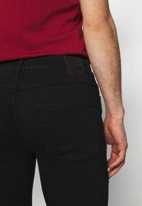 11 DEGREES - DISTRESSED SKINNY FIT - Jeans Skinny Fit - jet black wash - 5