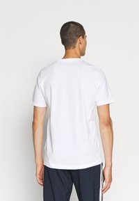 adidas Performance - ESSENTIALS - T-shirts basic - white/black - 2