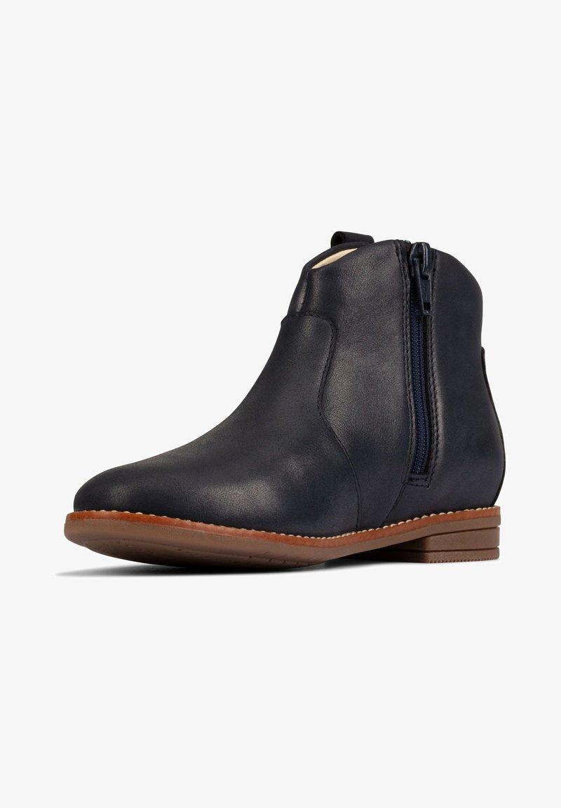 Clarks - DREW NORTH  - Ankle boots - dunkelblaues leder