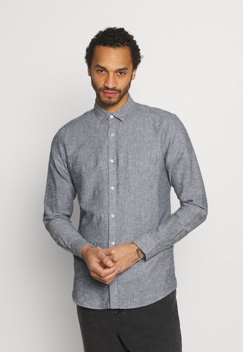 Only & Sons - ONSCAIDEN STRIPE - Shirt - mottled grey