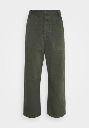 PLUMBER TWILL PANTS - Kangashousut - thyme green