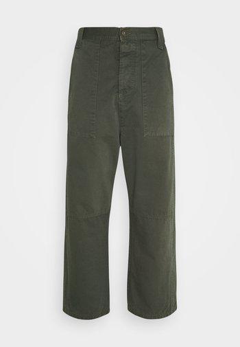 PLUMBER TWILL PANTS - Kalhoty - thyme green