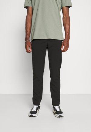CLUB PANTS WITH DRAWSTRING - Kalhoty - black