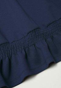 Mango - Jersey con capucha - bleu marine foncé - 5