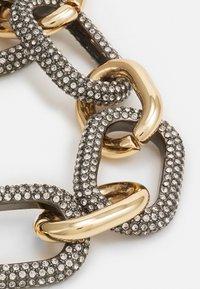 Rebecca Minkoff - CHUNKY PAVE LINK BRACELET - Bracelet - gold-coloured - 2