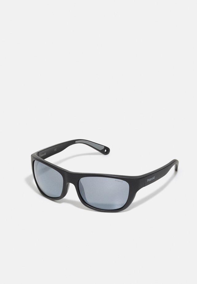 UNISEX - Sluneční brýle - black/silver-coloured