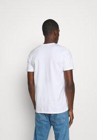 Ellesse - MELEDO - T-shirts basic - white - 2