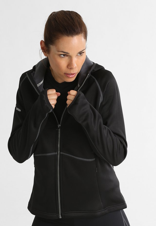 BASE WARM UP - Sports jacket - black