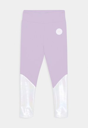 CHUCK PATCH SHINY  - Leggings - violet frost