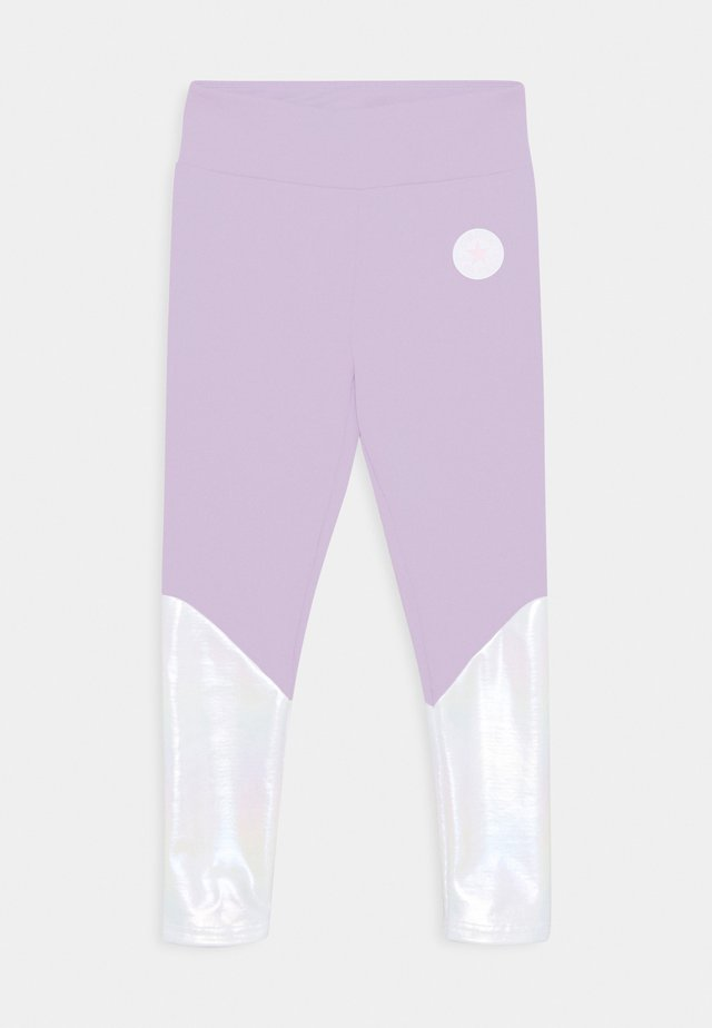 CHUCK PATCH SHINY  - Leggings - Trousers - violet frost