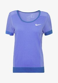 Nike Performance - INFINITE - Print T-shirt - sapphire/light thistle - 4