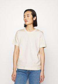 ARKET - T-SHIRT - T-shirts - white dusty light - 0