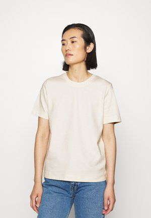 T-SHIRT - T-shirts basic - white dusty light