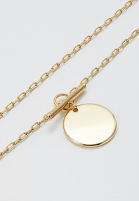 Orelia - COIN T BAR FASTENING SHORT NECKLACE - Collana - pale gold-coloured - 2