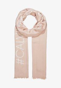Calvin Klein - BIND SCARF - Sjaal - pink - 1