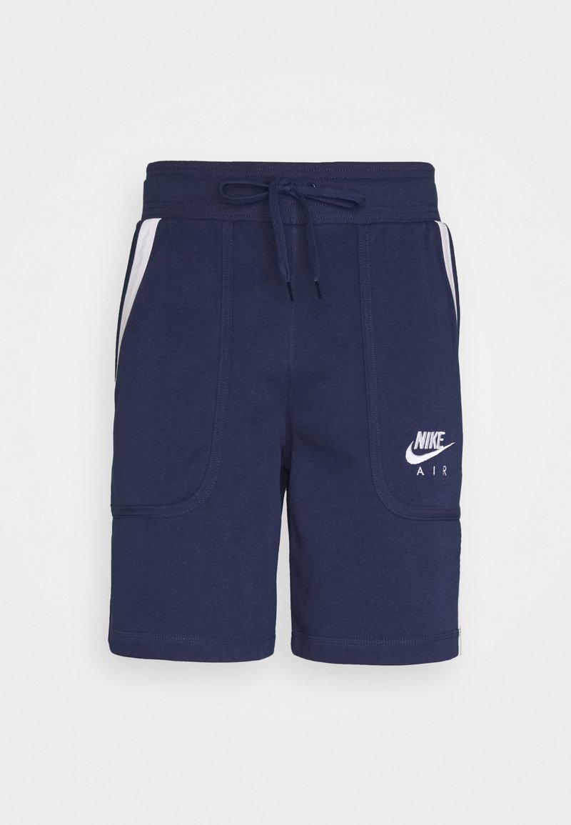 Nike Sportswear - AIR - Tracksuit bottoms - midnight navy/black/white