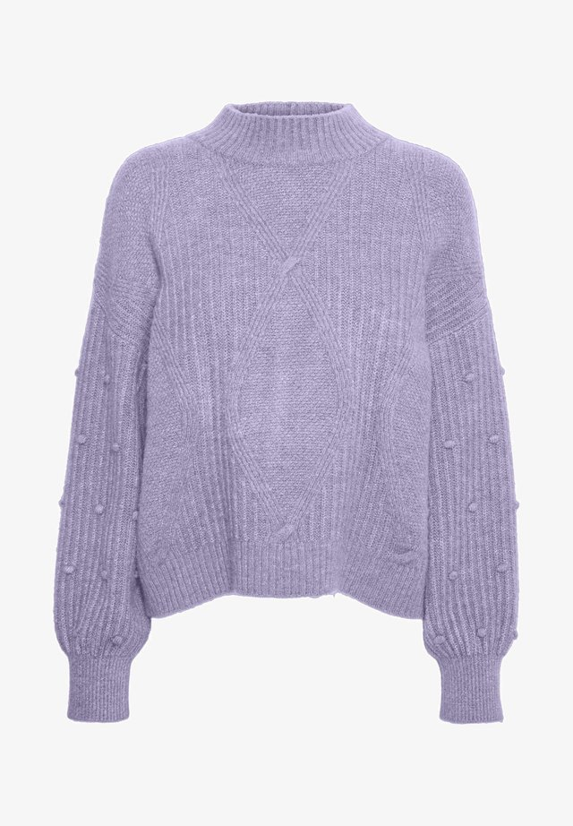 Jumper - pastel lilac