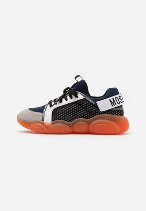 Baskets basses - navy/orange